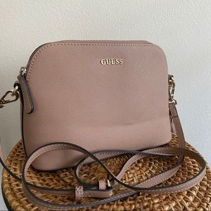 Guess Pink Mauve Crossbody Bag